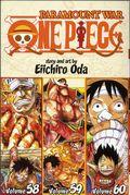One Piece TPB (2009- Viz) 3-in-1 Volume 58-60-1ST
