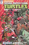 Teenage Mutant Ninja Turtles Amazing Adventures Robotanimals (2017 IDW) 1