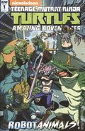 Teenage Mutant Ninja Turtles Amazing Adventures Robotanimals (2017 IDW) 1RI