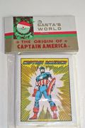 Santa's World The Origin of Captain America HC (1981 Marvel) 1-1ST