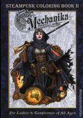 Lady Mechanika Steampunk Coloring Book SC (2016 Benitez) 2-1ST
