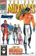 New Mutants (1983 1st Series) Mark Jewelers 99MJ