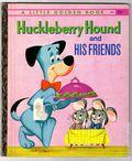 Huckleberry Hound and His Friends HC (1960 Golden Press) A Little Golden Book 406