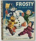 Frosty the Snow Man HC (1950 Golden Press) A Little Golden Book 142-REP