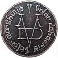 Game of Thrones Iron Coin of the Faceless Men (2017 Shire Post Mint) ITEM#1