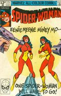 Spider-Woman (1978-1983 1st Series) UK Edition 25UK