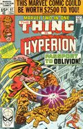 Marvel Two-in-One (1974 1st Series) UK Edition 67UK