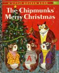 Chipmunks' Merry Christmas HC (1959 Golden Press) A Little Golden Book 375-1ST