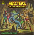 Masters of the Universe Caverns of Fear SC (1983 Western) A Golden Super Adventure Book #11794