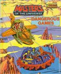 Masters of the Universe Dangerous Games HC (1985 Western) A Golden Book 1-1ST