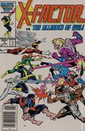 X-Factor (1986 1st Series) Canadian Price Variant 5