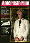 American Film (1977-1992 American Film Institute) Magazine Vol. 7 #8