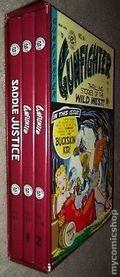 Gunfighter and Saddle Justice HC Slipcase Set (1996 Gemstone) The Complete EC Library SET#1