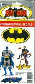 Batman Decals (1982 Randor) ITEM#1