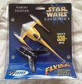 Star Wars Naboo Fighter Model Rocket (1999 Estes) ITEM#1