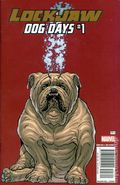 Lockjaw Dog Days (2017 Marvel) 1