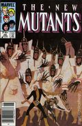New Mutants (1983 1st Series) Canadian Price Variant 28