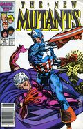 New Mutants (1983 1st Series) Canadian Price Variant 40