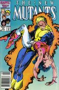 New Mutants (1983 1st Series) Canadian Price Variant 42