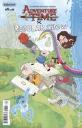 Adventure Time Regular Show (2017 Boom) 1A