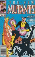 New Mutants (1983 1st Series) Mark Jewelers 35MJ