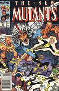 New Mutants (1983 1st Series) Mark Jewelers 57MJ