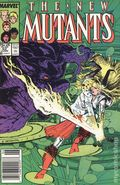 New Mutants (1983 1st Series) Mark Jewelers 52MJ