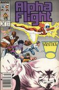 Alpha Flight (1983 1st Series) Mark Jewelers 48MJ