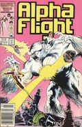 Alpha Flight (1983 1st Series) Mark Jewelers 44MJ