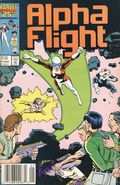 Alpha Flight (1983 1st Series) Mark Jewelers 42MJ