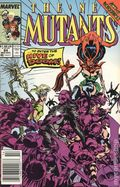 New Mutants (1983 1st Series) Mark Jewelers 84MJ