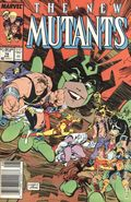 New Mutants (1983 1st Series) Mark Jewelers 78MJ