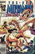 New Mutants (1983 1st Series) Mark Jewelers 77MJ