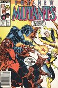 New Mutants (1983 1st Series) Mark Jewelers 53MJ
