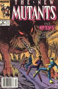 New Mutants (1983 1st Series) Mark Jewelers 82MJ