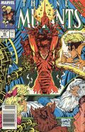 New Mutants (1983 1st Series) Mark Jewelers 85MJ
