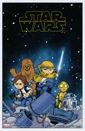 Star Wars Art Print (2015 Marvel) PRINT#01