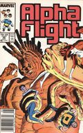 Alpha Flight (1983 1st Series) Mark Jewelers 49MJ