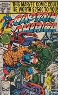 Captain America (1968 1st Series) UK Edition 249UK