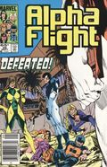 Alpha Flight (1983 1st Series) Mark Jewelers 26MJ