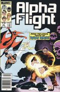 Alpha Flight (1983 1st Series) Mark Jewelers 31MJ