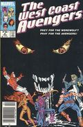 Avengers West Coast (1985) Mark Jewelers 5MJ
