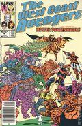 Avengers West Coast (1985) Mark Jewelers 4MJ