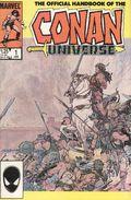 Official Handbook of the Conan Universe (1986 Marvel) 1A