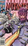 New Mutants (1983 1st Series) Mark Jewelers 48MJ