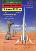 Fantasy and Science Fiction (1949-Present Mercury Publications) Pulp Vol. 12 #4