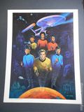 Star Trek Art Print (1976 Sal Quarticco) By Ken Barr ITEM#1