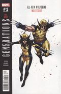 Generations Wolverine and All-New Wolverine (2017) 1B