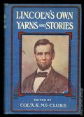 Lincoln's Own Yarns and Stories HC (1923 The John C. Winston Company) 1-1ST