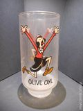 Popeye Glasses (1975 Coca Cola) Kollect-a-set Series ITEM#1
